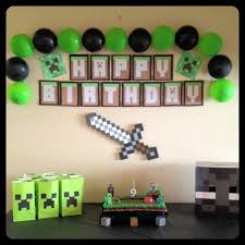 minecraft party decorations 20 birthday party ideas for boys minecraft party decorations