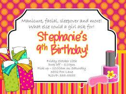 spa birthday party invitations u2013 gangcraft net