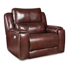 Chair And A Half Recliner Leather Dazzle Power Reclining Chair And A Half With Power Headrest By