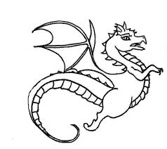 free printable animal dragon coloring pages tattoo anggur kolesom