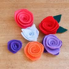 felt flowers how to make felt flowers 37 diy tutorials guide patterns