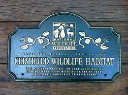 how to turn your own backyard into a certified wildlife habitat