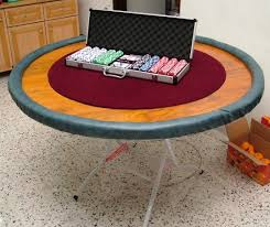 how to make a poker table homemade poker table