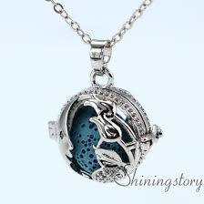 heart necklace wholesale images Heart locket necklace diffuser necklace wholesale silver locket jpg