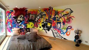 graffiti en la pared paredes originales pinterest graffiti colorful graffiti bedroom by the graffiti kings i want an art wall so bad