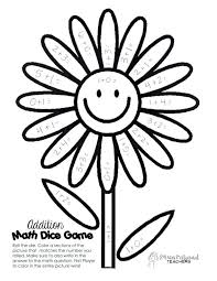 free math coloring pages middle fun worksheets 3rd grade