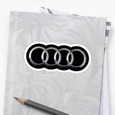 audi logo black and white audi logo