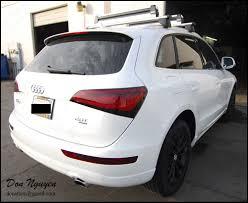 Audi Q5 White - don nguyen light smoke tint on tail lights white audi q5 suv