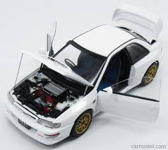 subaru autoart autoart 78605 scale 1 18 subaru impreza 22b 1998 upgraded
