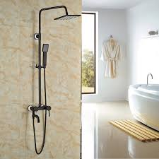 rozin wall mounted tub mixer shower set 8