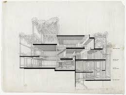 a selection of paul rudolph s perspective sections penthouse a selection of paul rudolph s perspective sections penthouse apartment paul rudolph and architectural drawings
