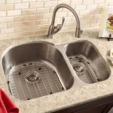 brushed nickel faucet with stainless steel sink enjoyable stainless steel kitchen sink faucet mixed kitchen interior