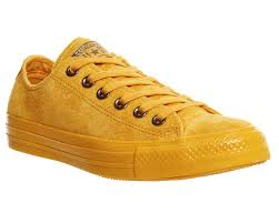 converse all star low leather artisan gold suede unisex sports