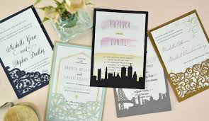 how to diy laser wedding invitations with slide in cards cards