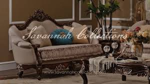 Drexel Heritage Leather Sofa by French Furniture Loveseat By Savannah Collections Drexel