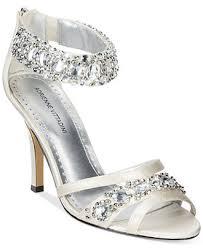 wedding shoes macys adrienne vittadini gabrielle two evening sandals evening