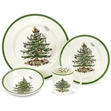 spode tree 12 dinnerware set service