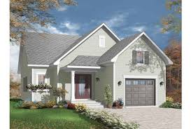 eplans new american house plan perfect small home 1250 square