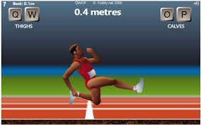 Qwop Meme - set new distance record in qwop with hacked qwop game