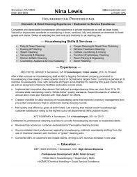 monstercom resume templates houskeeping resume housekeeping resume sle monstercom
