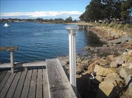 Solar Powered Bollard Lights - solar bollard lighting crookhaven river foreshore greenwell
