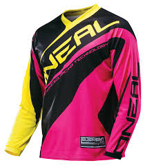 o neal motocross gear o u0027neal element women u0027s jersey revzilla