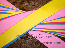 play construction paper dress and windsock the outlaw mom blog