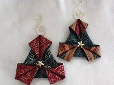 origami folded fabric ornaments folded fabric ornaments fabric