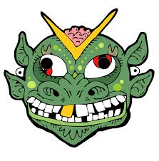coloring pages monster mask printable template high maxvision