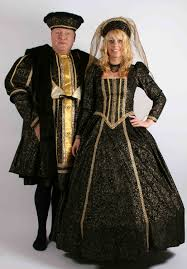 theatrical medieval and tudor fancy dress costume hire