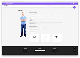 resume website template 15 best html5 vcard and resume templates for your personal