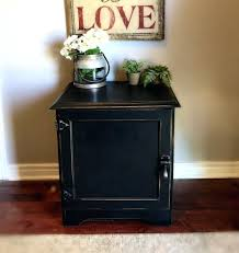 tall black bedside table decoration contemporary nightstands tall black nightstand grey wood