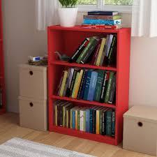 Sauder Beginnings 3 Shelf Bookcase by Altra Furniture Core Rodeo Oak Open Bookcase 9424213pcom The