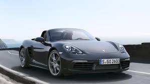 porsche boxster 2016 black the new porsche 718 boxster
