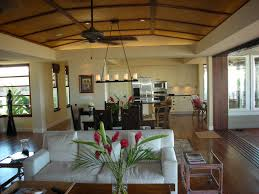 Tropical Dining Room Furniture Good Looking Linear Chandelier Tropical Dining Room