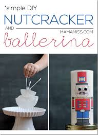 Nutcracker Crafts For Kids - kid made diy nutcracker ballet