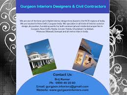 new delhi gurgaon interiors designers decorators furnishers
