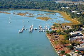 Map Of Beaufort Sc Downtown Marina Of Beaufort In Beaufort Sc United States