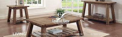 Amazon Com Patio Furniture by Amazon Com Emerald Home T100 0 Chandler Cocktail Table Wood