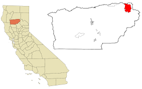 California Zip Codes Map by Mineral California Wikipedia