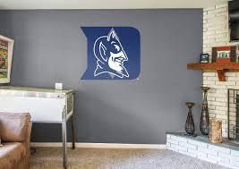 duke blue devils logo wall decal shop fathead for duke blue duke blue devils logo fathead wall decal