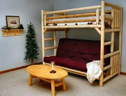 bedroom full size bunk bed with futon bed over futon loft bed