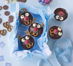 rudolph cupcakes recipe bbc good food