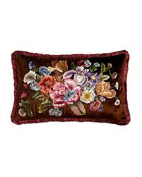 strongwater pillows strongwater floral pillow 26 x 16 keep