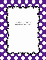 free printable thanksgiving borders free polka dot border templates in 16 colors