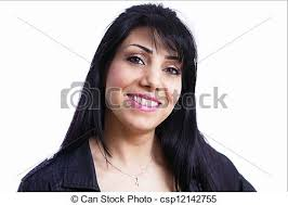 hispanic woman med hair styles smiling mid adult latino lady a horizontal portrait stock images