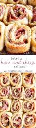 thanksgiving dinner appetizer recipes baked ham and cheese rollups high heels and grills
