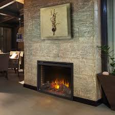 napoleon ascent 40 in dual voltage built in electric fireplace