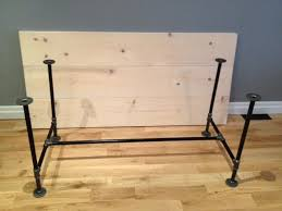 dining room table legs diy pipe table legs good for dining room braydon pinterest