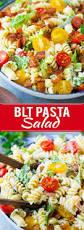 blt pasta salad recipe easy pasta salad recipe blt pasta